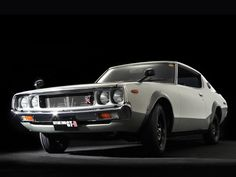 1973 Nissan Skyline H/T 2000GT-R 'Kenmeri' at Monterey RM auction this summer. You can lease it through Premier. Apply online for auction pre-approval. #Nissan #LeaseANissan #MontereyAuction