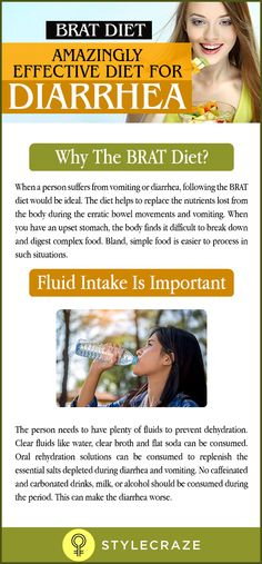 Are you suffering from acute diarrhea? Does thinking about food bring a sick feeling to your stomach? Well, in that case it is best to stick to a BRAT diet. When we think of the word 'diet', the first thought that comes to the mind is weight and fat loss. The word diet does not always mean a weight loss plan. Eating food other than your normal daily food in a restricted manner could be for many other reasons too.