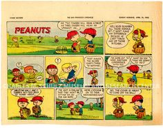 Charles M. Schulz Museum   Collection Items-San Francisco Chronicle newspaper clipping, 4/12/53