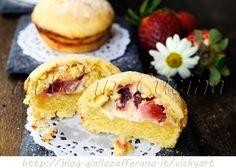 Tortine alle fragole e mascarpone con pasta frolla