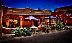 New Mexico Art - The Church Street Cafe - Albuquerque New Mexico  by David Patterson