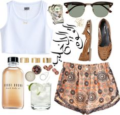 """93. Summer on Smash"" by ass-sass-in ❤ liked on Polyvore"
