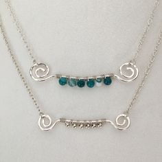 Layered necklaces from True Happiness Designs