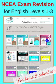 Successful and popular study guides for NCEA English Levels 1, 2 and 3. This collection includes help with written text, visual text and unfamiliar text studies. It includes resources to help students ensure they're organised and know how to study for any subject. Help with NCEA is right here. Past Exams, Exam Revision, Study Plans, Study Guides, Study Skills, Booklet, Confidence, Students