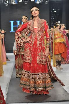HSY Collection at L'Oreal Paris Bridal Week 2012 Day Bridal Collection Fashion News, Fashion Brands, Female Fashion, Fashion Designers, Womens Fashion, Bridal Outfits, Bridal Dresses, African Fashion, Indian Fashion