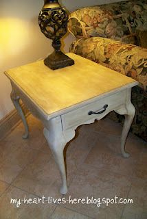 chalk paint table