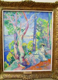 Morning in Cavaliere- Henri Manguin, 1906 The Hermitage Museum, Saint Petersburg, Russia http://www.hermitagemuseum.org/
