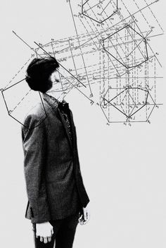 Unknown Artist - Thinking in Visual Abstractions Collage. This was posted on my…