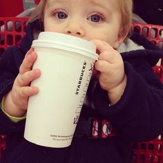 It starts young #starbucksobsession