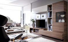 acogedora sala de estar con espacio para todo www.moblestatat.com horta guinardó barcelona