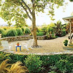 landscaping ideas, potted plants, lawn, retaining walls, stone walls, front yards, patio, backyard, garden