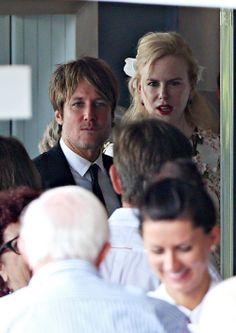 Nicole Kidman celebra con Keith Urban y sus hijas las bodas de oro de sus padres