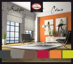 Sublime Colours Osaka. Pintura en colores intensos para decoración de paredes y techos.   www.facebook.com/arteosaka www.osaka.es www.arteosaka.com