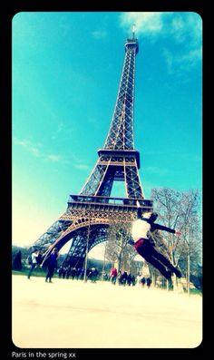 Just me with the Eiffel Tower, Paris, Building, Travel, Rook, Montmartre Paris, Viajes, Computer Case, Buildings