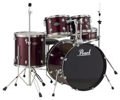 You can find a selection of PEARL DRUMS including this PEARL CENTRESTAGE CSC625SZP 5-PIECE DRUM SET-WINE RED at jsmartmusic.com