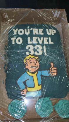New Birthday Cake Website Ideas New Birthday Cake, 33rd Birthday, Birthday Parties, Birthday Bash, Birthday Ideas, Fallout Art, Fallout Props, Birthday Pictures, Geek Out