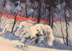 Painting by Stephen Quiller