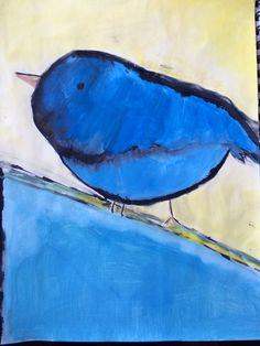 Watercolour bird Watercolor Bird, My Arts