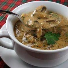 Hungarian Mushroom Soup Amy's Recipe
