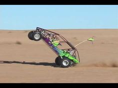 Watch A Little Kid Do A Monster Wheelie In A Sand Rail At Glamis: Video