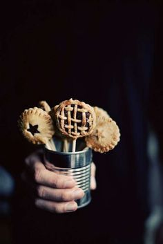 The Nutella Pie Pops by Call Me Cupcake Look Just Like Traditional Pies #food trendhunter.com
