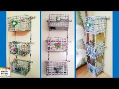 DIY Newspaper wall mount rack | Newspaper organizer - YouTube