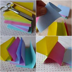 DIY: enfeitinho de Post-it | SuperZiper