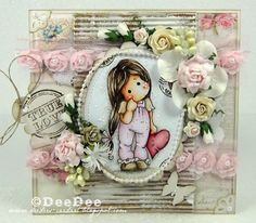 Lonely Tilda with her heart, With Love collection 2013, Magnolia stamps