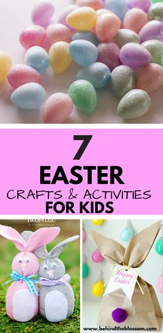 7 Great Easter Crafts & Activities for Kids