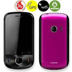 HUAWEI U8150 Quad Band Qualcomm MSM7225 Android 2.2 2.8inch Capacitive Screen WIFI GPS WCDMA 3G Smart Phone - Rosy