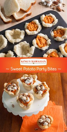 These tasty Sweet Potato Bites are perfect for a Thanksgiving or Friendsgiving appetizer!