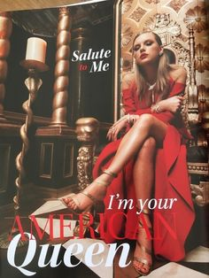 """Taylor swift """"king of my heart"""" lyrics """"salute to me I'm your American Queen"""". Taylor Swift Fan Club, Estilo Taylor Swift, Long Live Taylor Swift, Taylor Swift Album, Taylor Swift Pictures, Taylor Alison Swift, Taylor Taylor, Taylor Swift Lyric Quotes, Taylor Lyrics"""