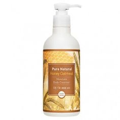 Pure Natural Honey Oatmeal Moisture Body Cleanser