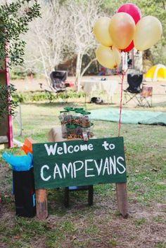 DIY Camping Birthday Party | Studio DIY®