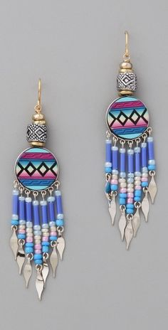Similar to Desert Sand Earrings. I like this color even better than the pink!
