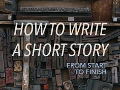 How to Write a Short Story from Start to Finish - Ready to get writing? Here are seven steps on how to write a short story from start to finish. Writing Advice, Writing Resources, Writing Help, Writing Skills, Writing A Book, Short Story Writing Tips, Start Writing, Ideas For Short Stories, Story Writing Ideas
