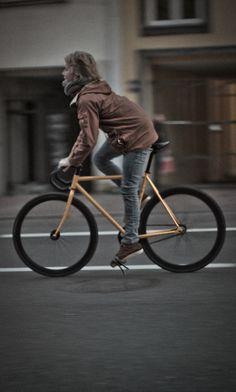 nice form #chick #bike