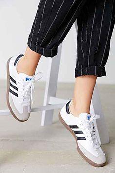 Summer Essentials - Adidas Samba - Ideas of Adidas Samba - adidas Originals Samba Sneaker Urban Outfitters Adidas Samba, Adidas Og, Adidas Sneakers, Shoes Sneakers, Retro Adidas Shoes, Retro Sneakers, Adidas Pants, Urban Outfitters, Adidas Originals