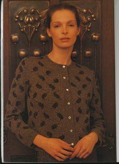 "Photo from album ""Rowan A Season's Tale"" on Yandex. Rowan Knitting, Knitting Designs, Mantel, Seasons, Album, Blouse, Color, Tops, Yandex Disk"
