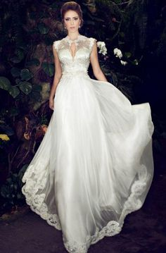 GLAMOUROUS GOWNS FOR 2014 | Glamorous Wedding Dresses With Incredible Elegance - Fashion Diva ...