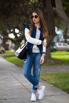 Outfits para la universidad  | vestimentas | | vestimentas juvenil | | vestimentas casual | | vestimentas femenina | http://caroortiz.com