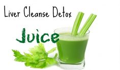 Liver Cleanse Detox Juice- pear, cabbage and celery