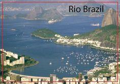 Rio de Janeiro souvenir Fridge magnet