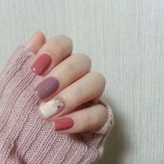 54 Fall Nails Art You Can Try At Home Check more at http://lucky-bella.com/54-fall-nails-art-can-try-home/