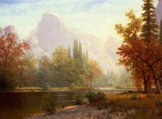 off Hand made oil painting reproduction of Half Dome, Yosemite, one of the most famous paintings by Albert Bierstadt. Half Dome, Yosemite is an oil painting from around made by Albert Bierstadt. Painting Frames, Painting Prints, Art Prints, Painting Styles, Canvas Prints, Landscape Prints, Landscape Paintings, Art Paintings, Landscapes