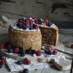 Stonska torta - A very unique cake from Ston, Croatia - using macaroni, nuts, lemon and chocolate