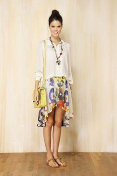 I love Mullet skirts - so pretty and feminine !