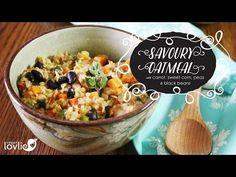 ▶ Savoury Oatmeal | Delicious & Healthy Savoury Breakfast + Vegan/Vegetarian - YouTube