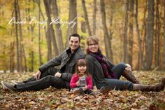 Family Photo Session Ideas | add our daughter in the middle behind us...
