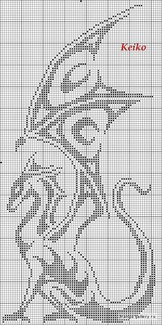 #Cross #stitch but easily transferred to a #chart for #crochet
